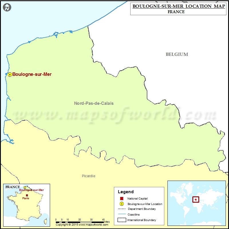 Where is Boulogne-sur-Mer