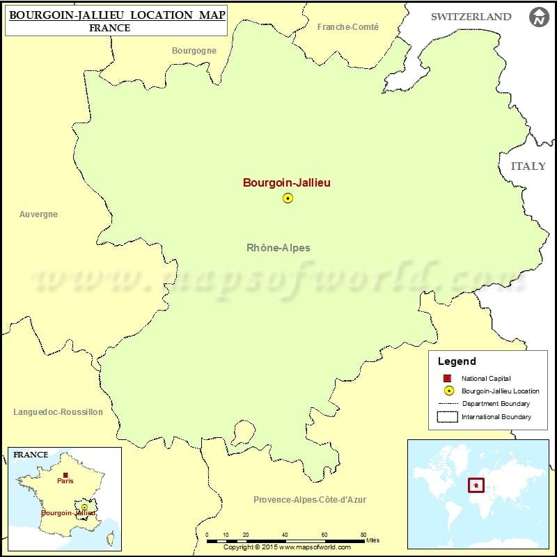 Where is Bourgoin-Jallieu