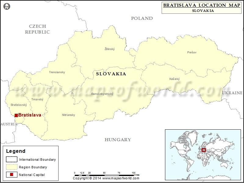 Where is Bratislava