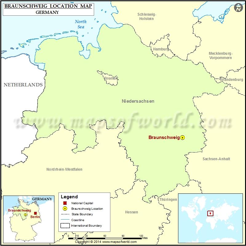 Where is Braunschweig