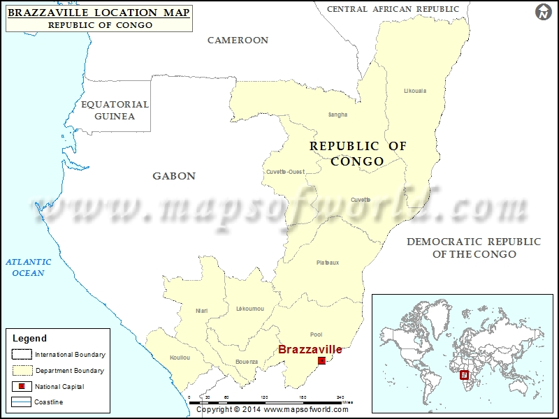 Where is Brazzaville