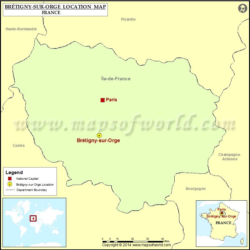 Where is Bretigny-sur-Orge