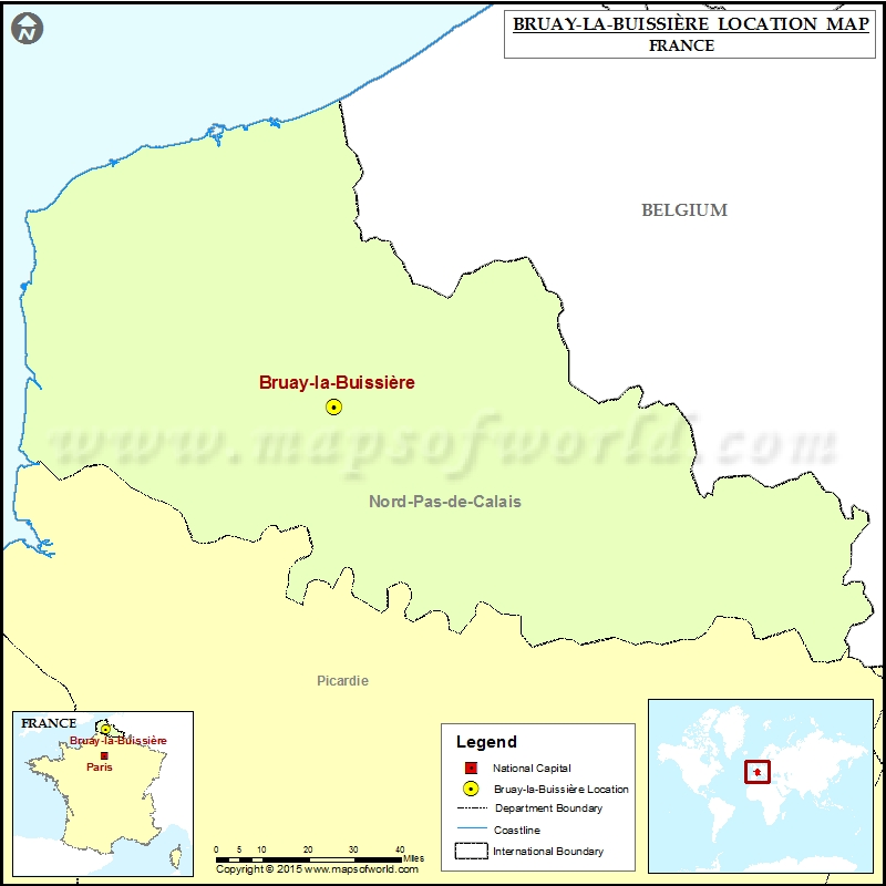 Where is Bruay-la-Buissiere