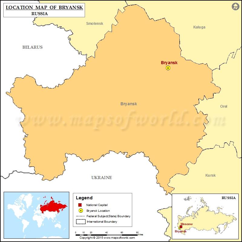Where is Bryansk