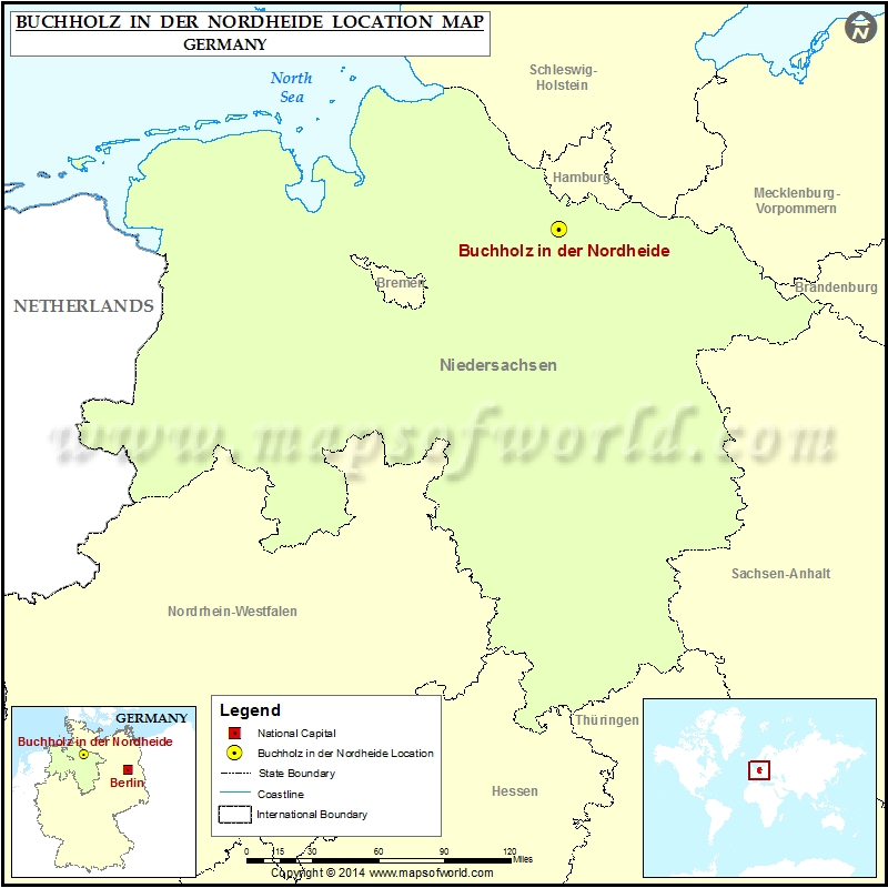 Where is Buchholz in der Nordheide