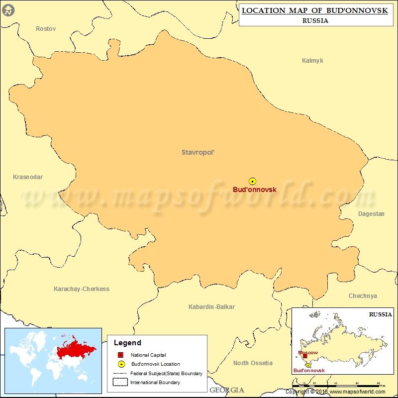 Where is Budonnovsk