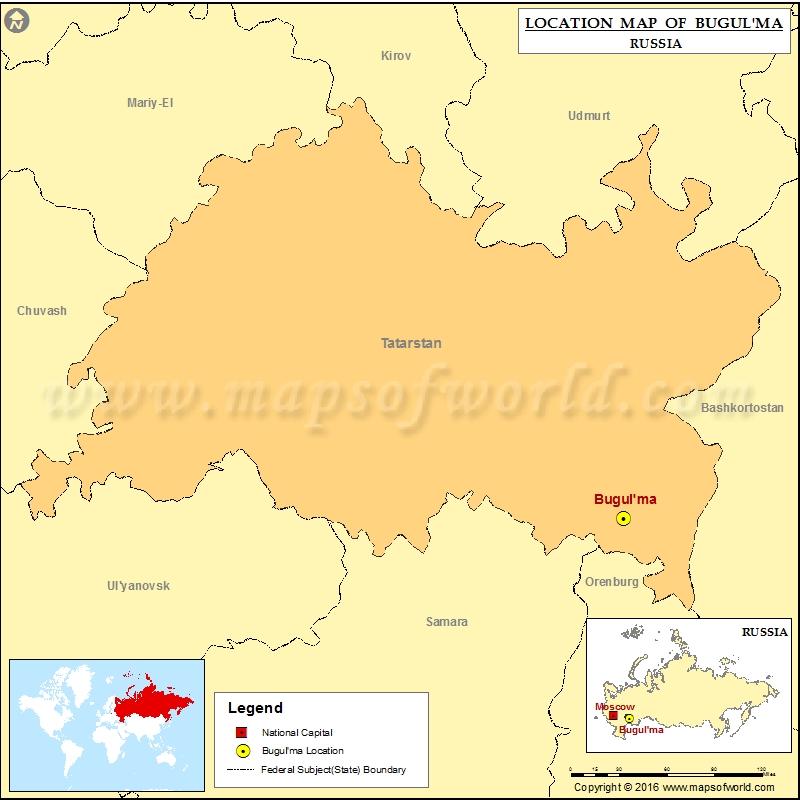 Where is Bugulma