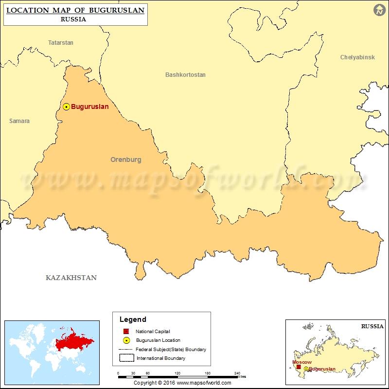Where is Buguruslan