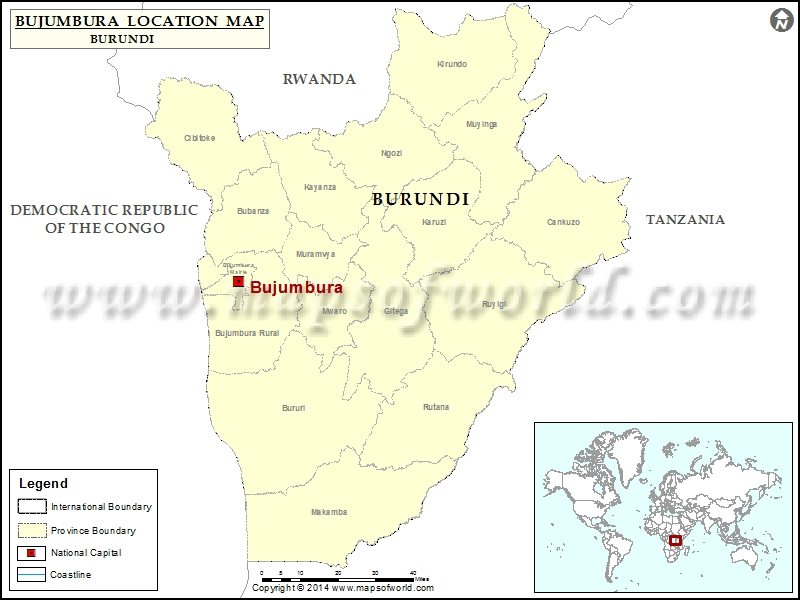 Where is Bujumbura