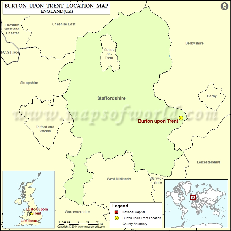 Where is Burton upon Trent