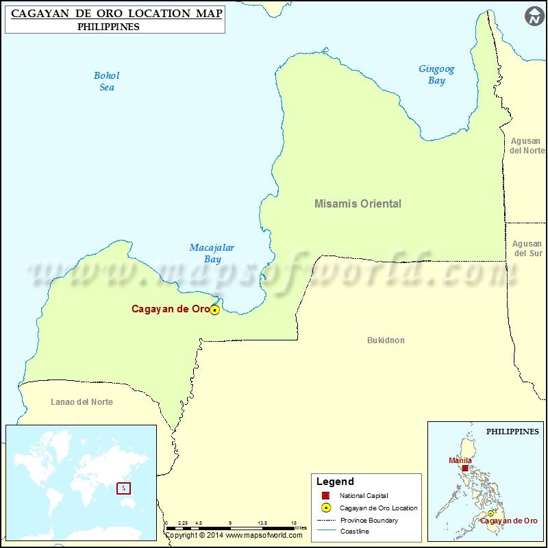 Where is Cagayan de Oro