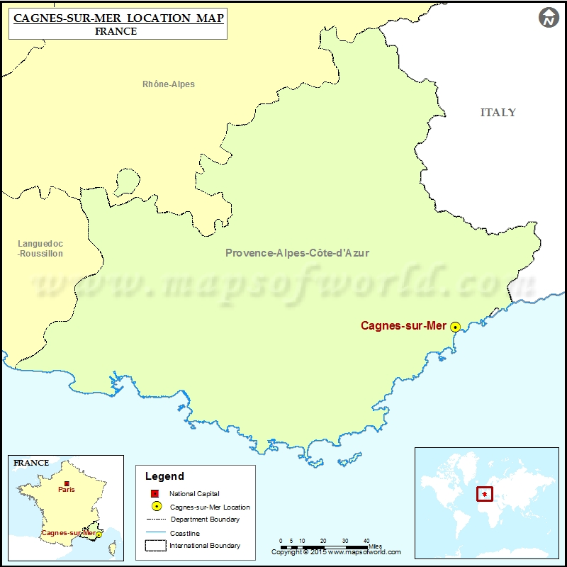 Where is Cagnes-sur-Mer