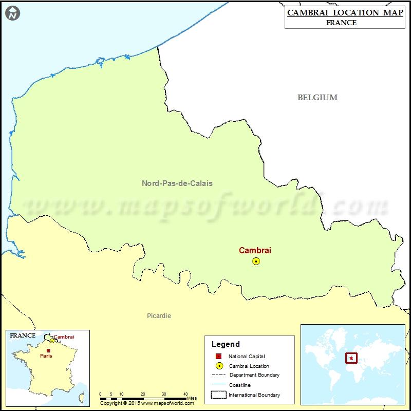 Where is Cambrai