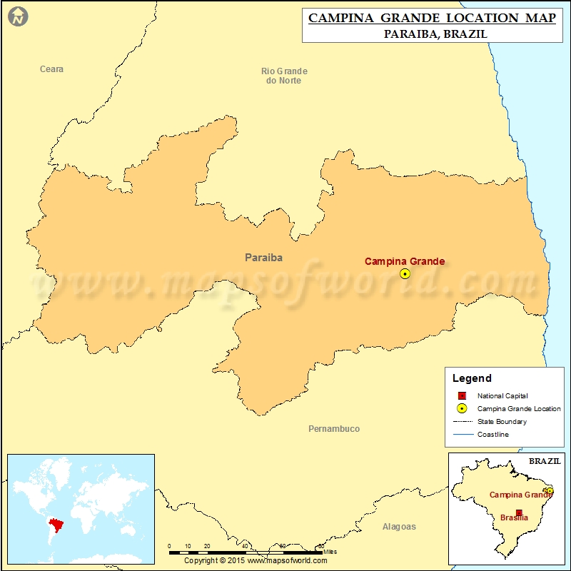 Where is Campina Grande