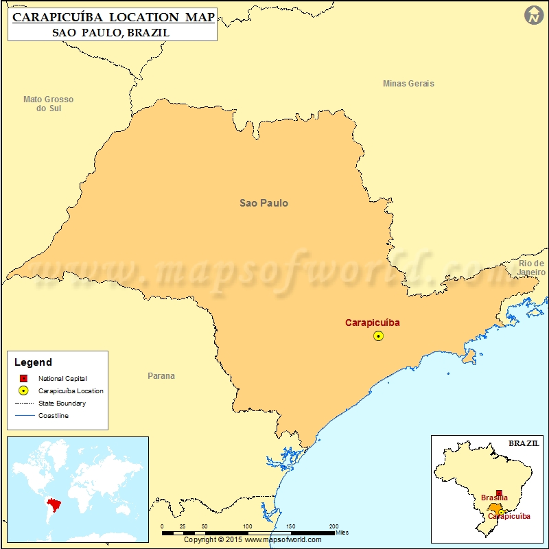 Where is Carapicuiba