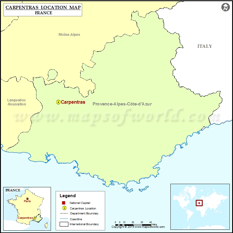 Where is Carpentras