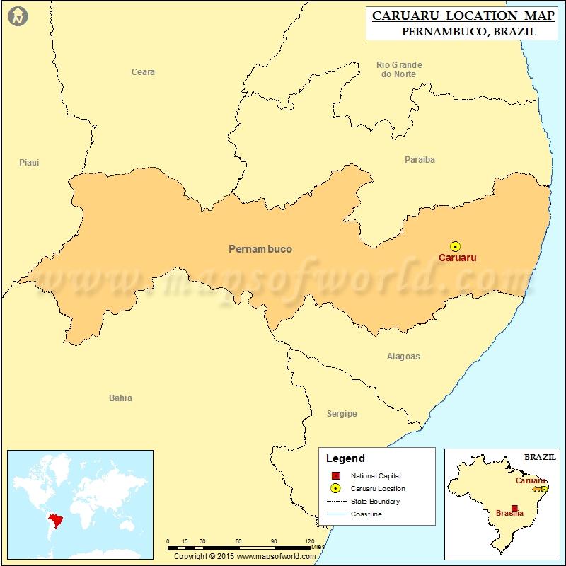 Where is Caruaru