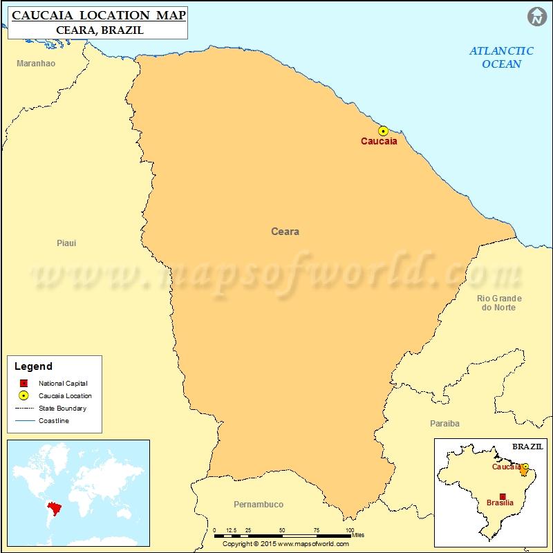 Where is Caucaia