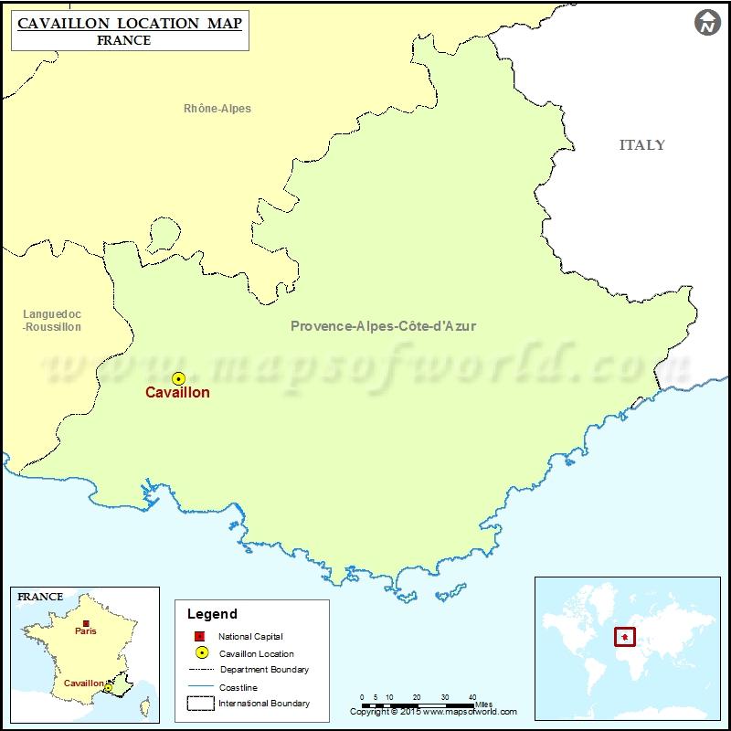 Where is Cavaillon