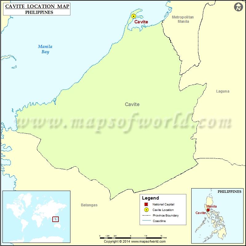 Where is Cavite