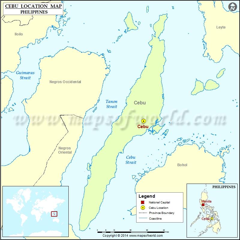 Where is Cebu