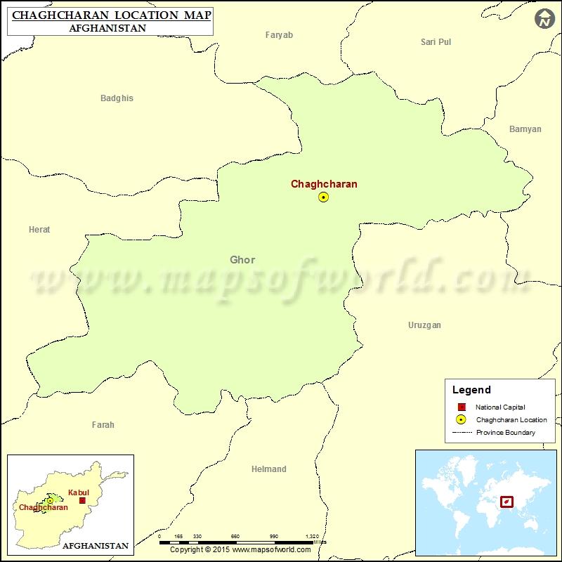 Where is Chaghcharan
