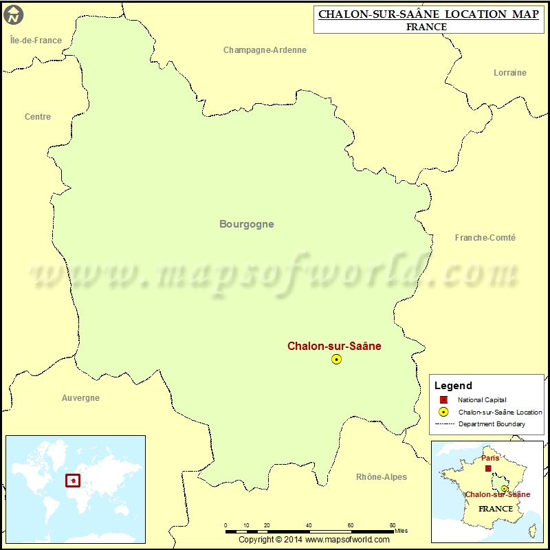 Where is Chalon-sur-Saane