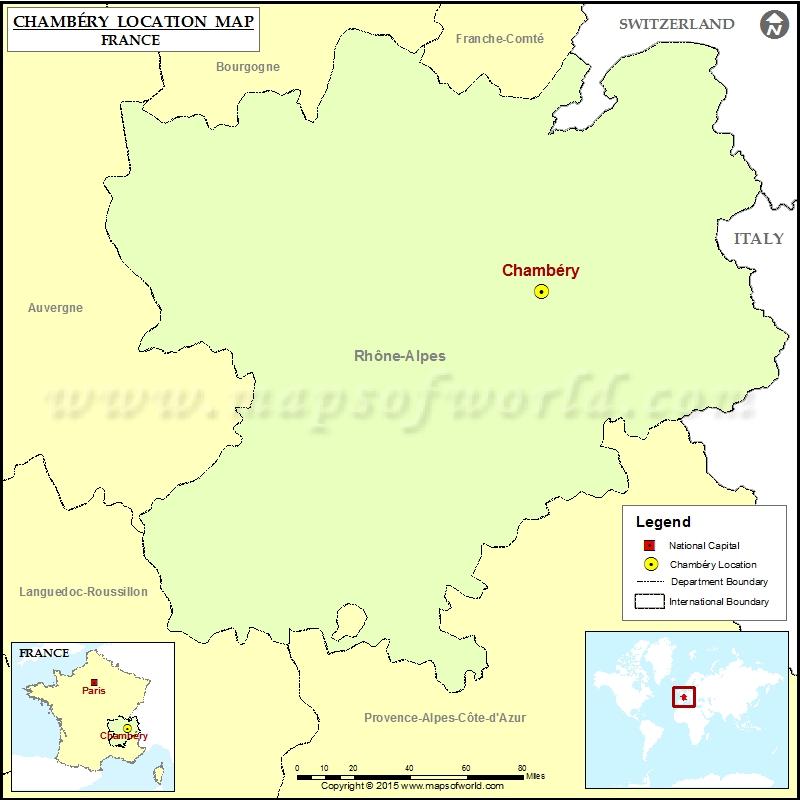 Where is Chambery
