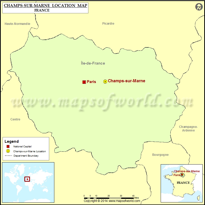 Where is Champs-sur-Marne