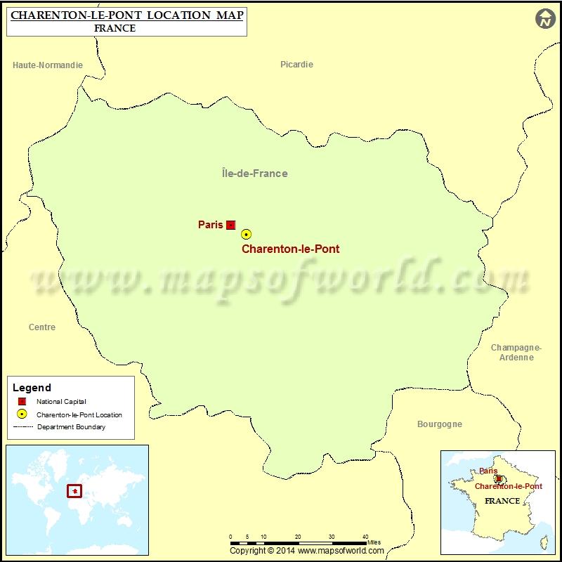 Where is Charenton-le-Pont