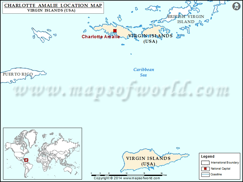 Where is Charlotte Amalie
