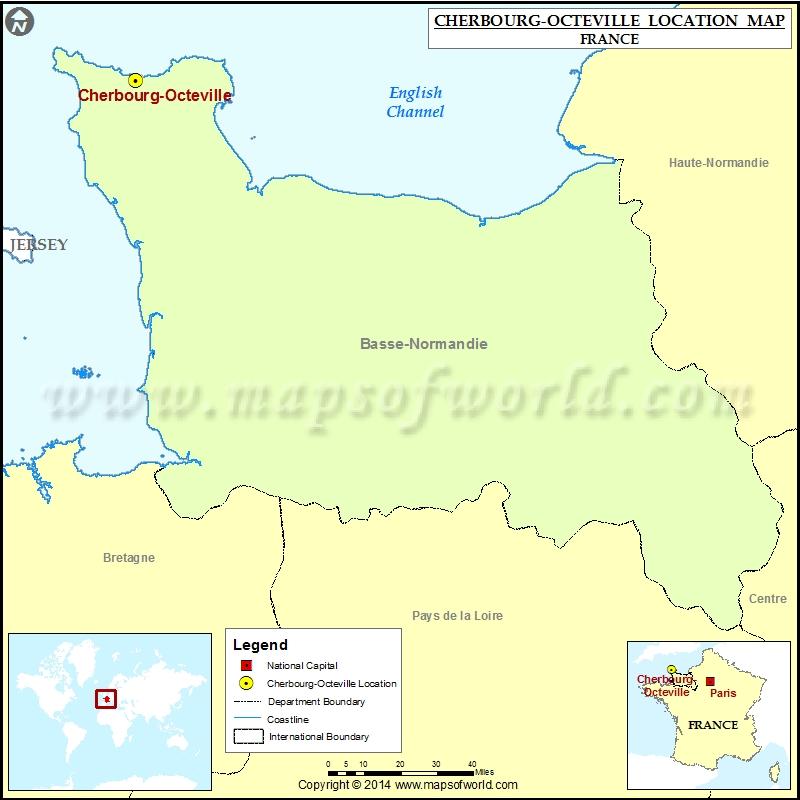 Where is Cherbourg-Octeville