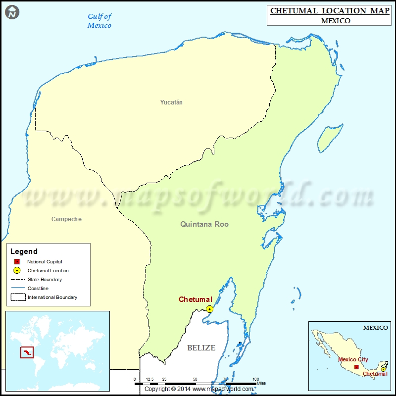 Where is Chetumal