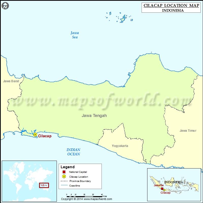 Where is Cilacap