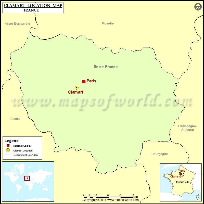 Where is Clamart