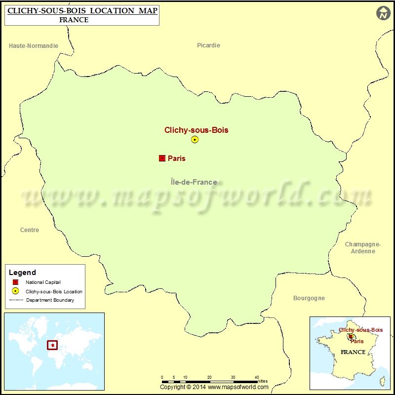 Where is Clichy-sous-Bois
