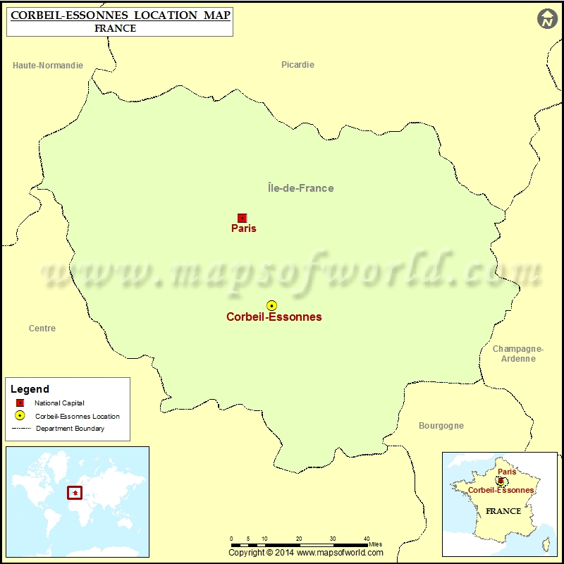 Where is Corbeil-Essonnes