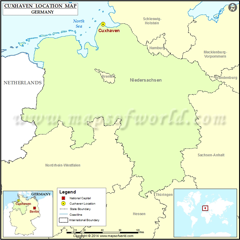 Where is Cuxhaven