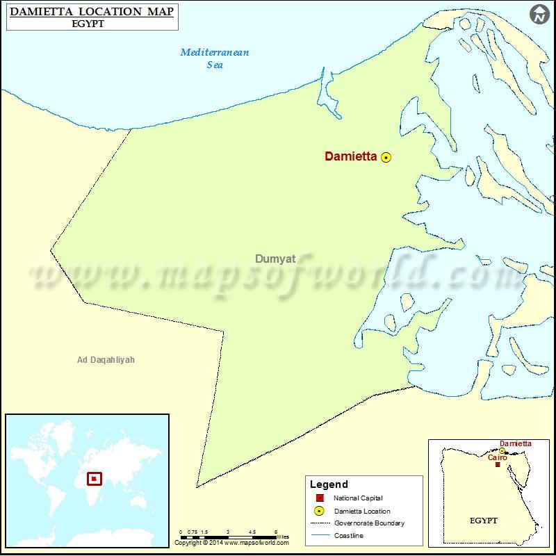 Where is Damietta