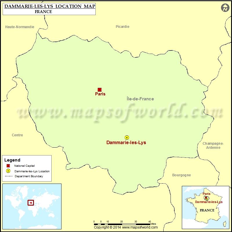 Where is Dammarie-les-Lys