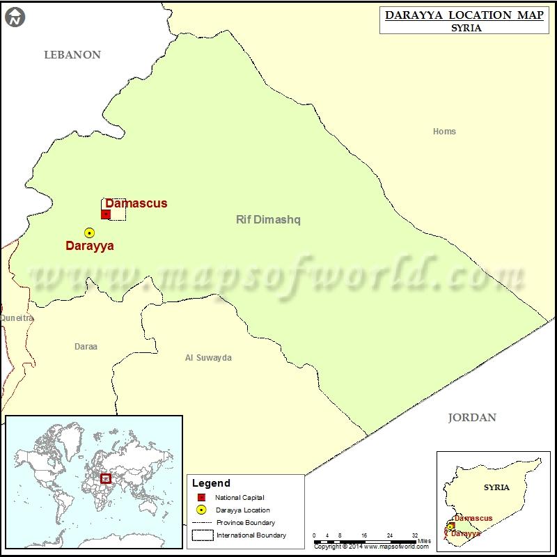 Where is Darayya