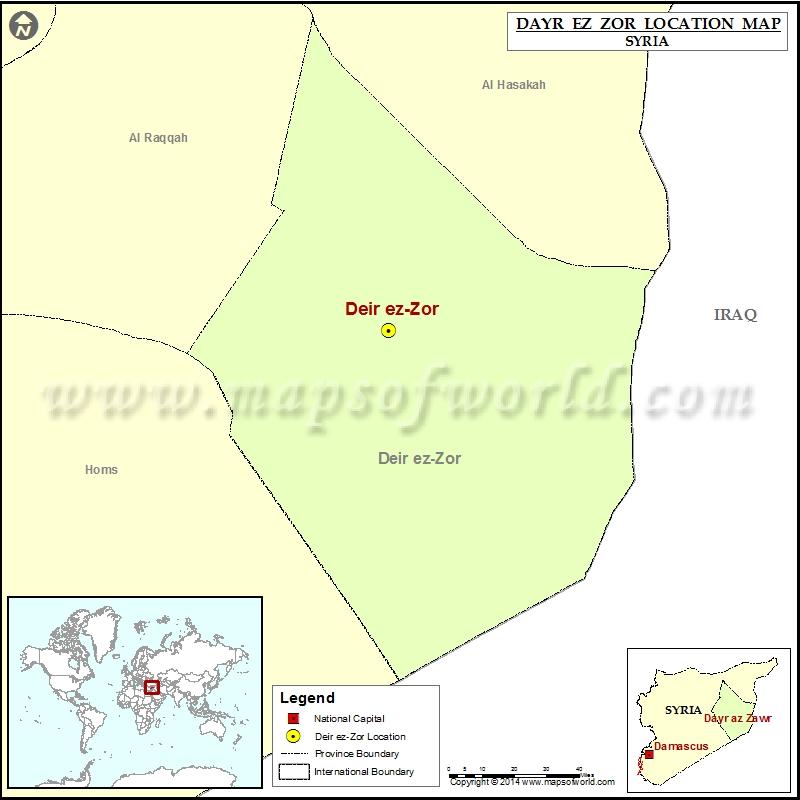 Where is Deir ez-Zor