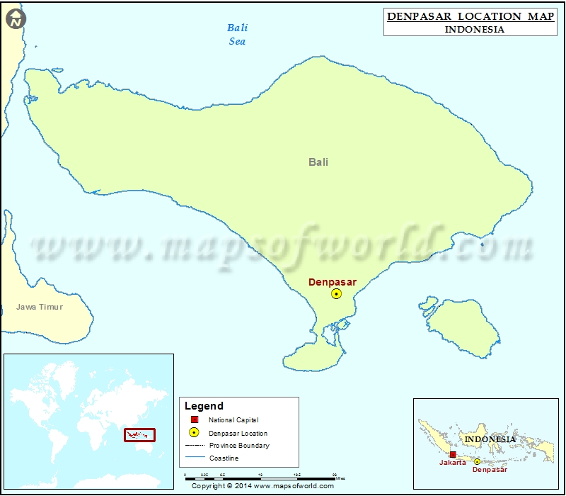 Where is Denpasar