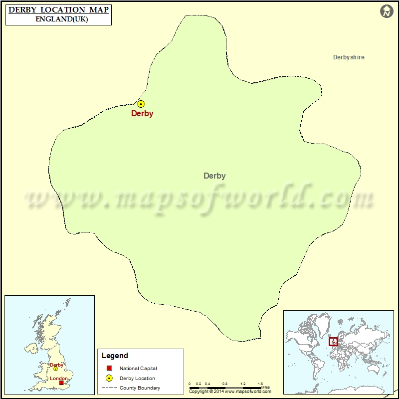 Map Of Uk Derby.Where Is Derby Location Of Derby In England Map