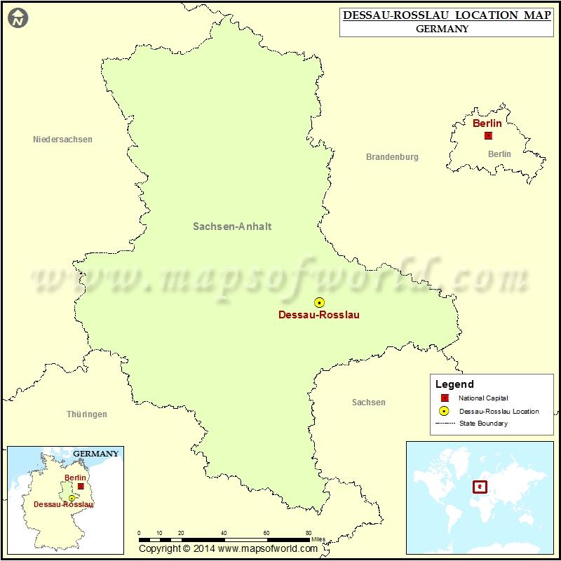 Where is Dessau-Rosslau