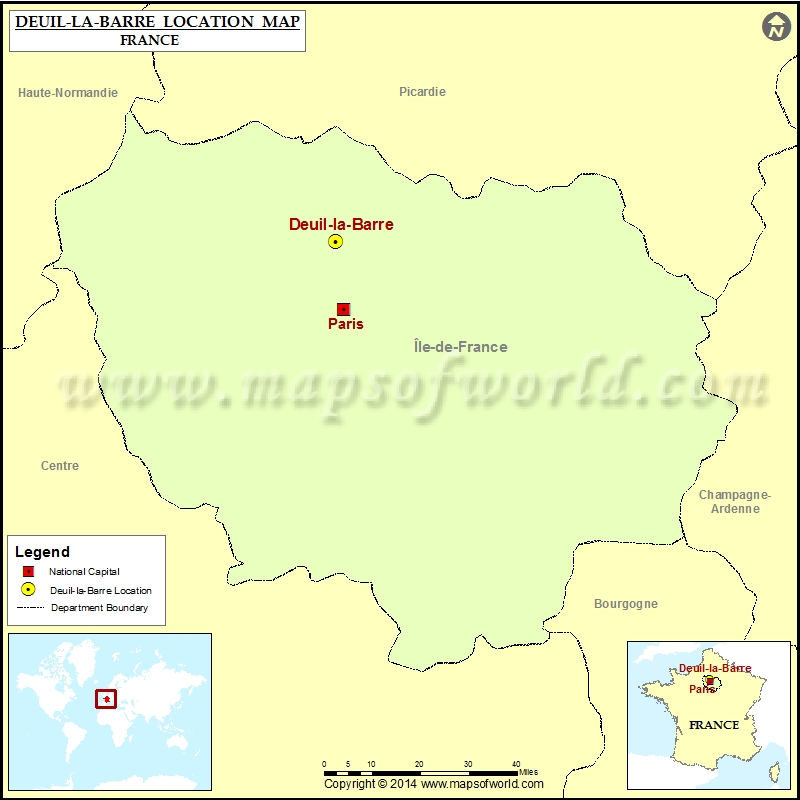 Where is Deuil-la-Barre