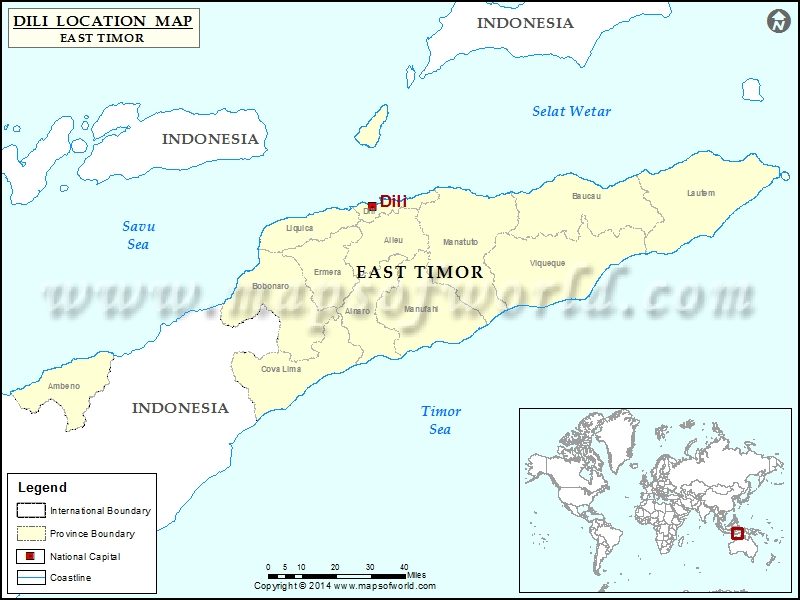 Where is dili location of dili in east timor timor leste map where is dili gumiabroncs Image collections