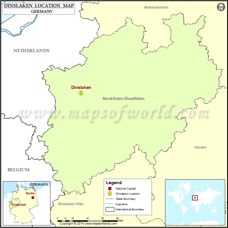 Where is Dinslaken