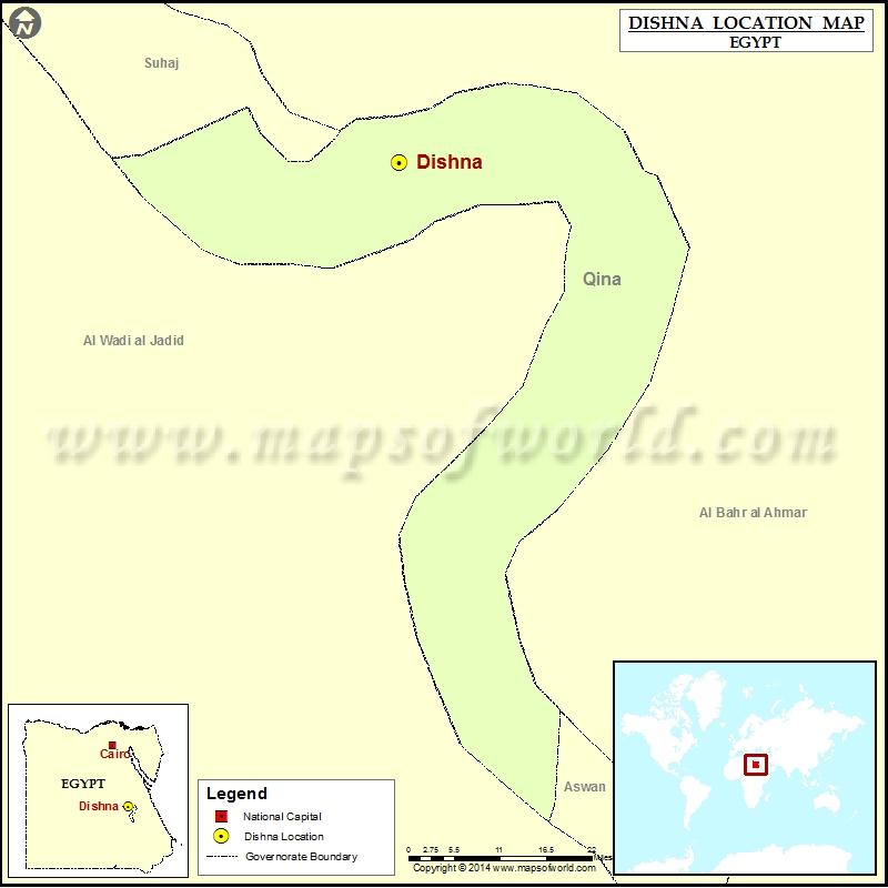 Where is Dishna