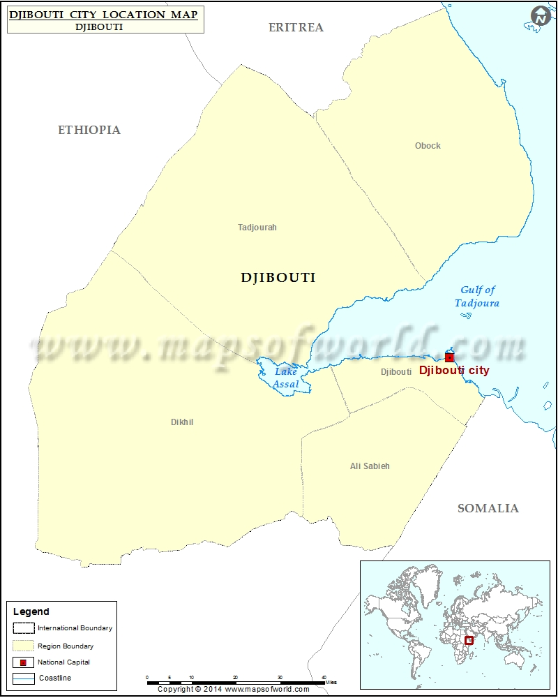 Where is Djibouti city